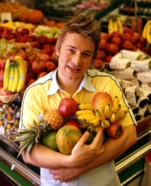 Celebrul bucatar Jamie Oliver