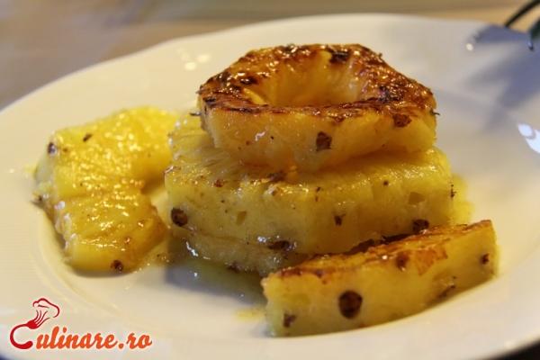 Foto - Ananas caramelizat