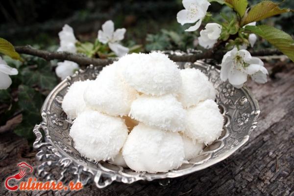 Foto - Bezele cu nuca de cocos