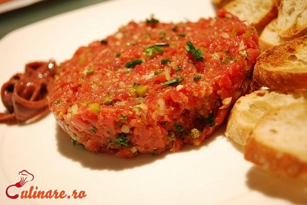 Foto - Biftec tartar