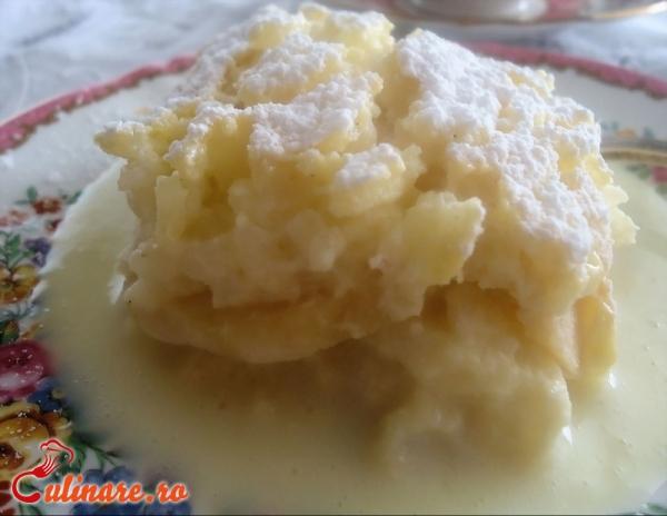 Foto - Budinca de orez cu mere
