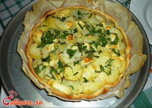 Foto - Cartofi la cuptor cu branza