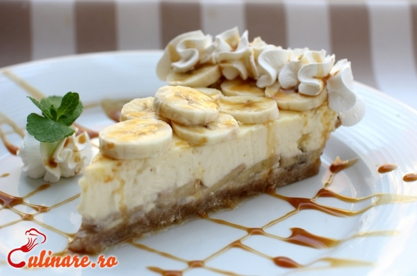 Foto - Cheesecake cu banane