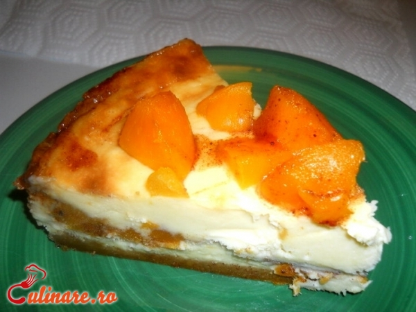 Foto - Cheesecake cu piersici