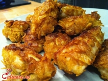 Chicken nuggets reteta