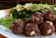 Chiftelute din carne de caprioara