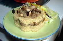 Cuscus cu ciuperci