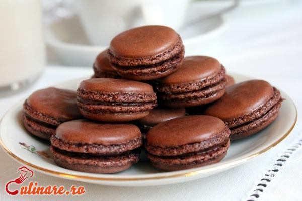 Foto - Macarons cu ciocolata