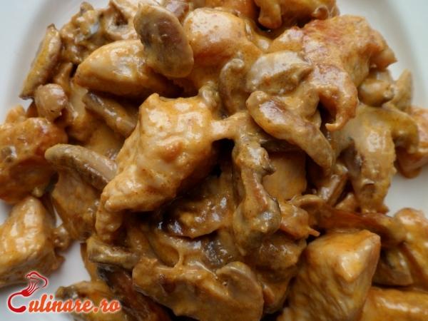 Foto - Mancare din ciuperci champignon