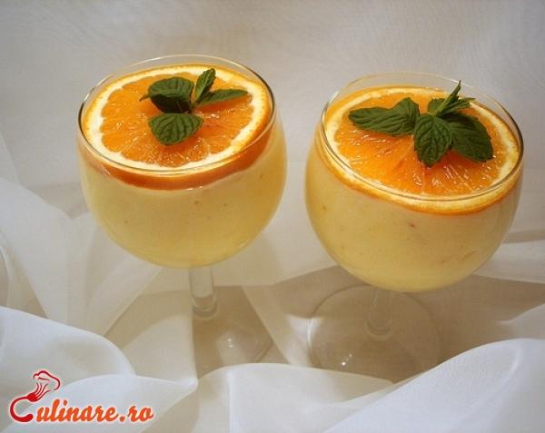 Foto - Mousse de portocale