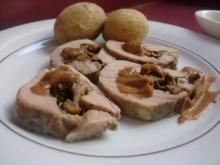Muschi de porc umplut cu ciuperci