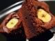 Negresa cu banane si ciocolata