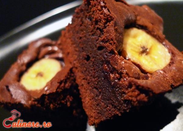 Foto - Negresa cu banane si ciocolata