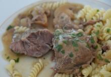 Paste cu carne de porc