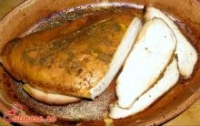 Pastrama de curcan