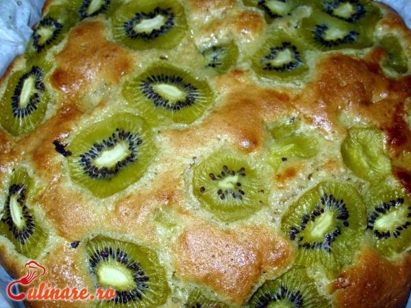 Foto - Prajitura cu kiwi