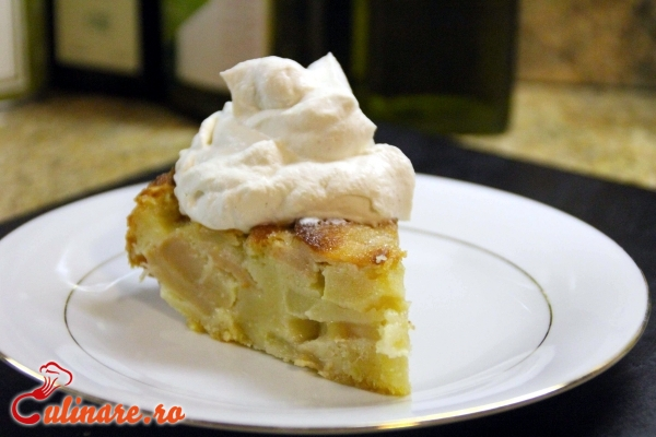 Foto - Prajitura cu mere si frisca