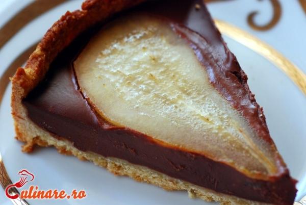 Foto - Prajitura cu pere si ciocolata