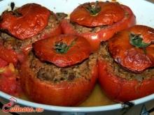 Rosii umplute cu carne