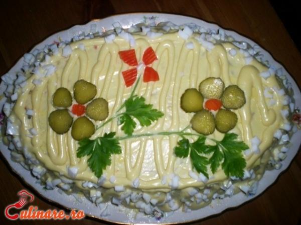 Foto - Salata boeuf de post