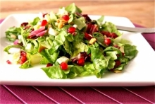 Salata cu samburi de rodie