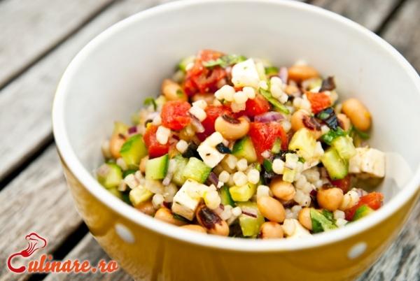 Foto - Salata de fasole boabe