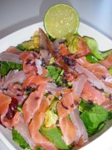 Salata de peste afumat