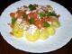 Salata de somon afumat