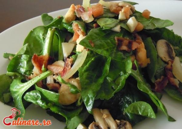 Foto - Salata de spanac