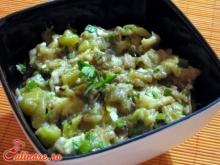 Salata de vinete cu dovlecei