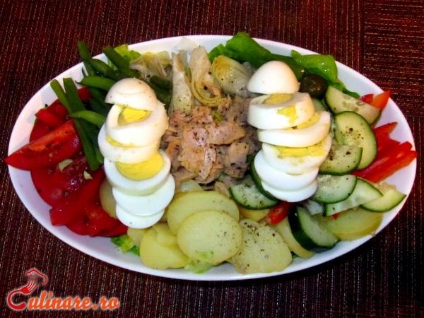 Foto - Salata nicoise