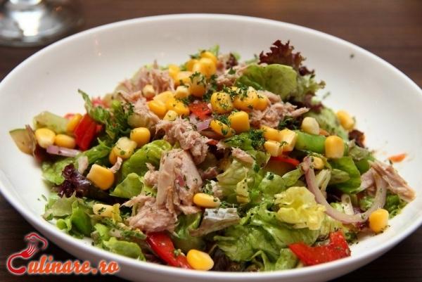 Foto - Salata verde cu ton