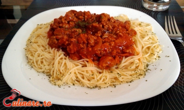 spaghete bolognese pierdere în greutate