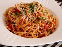 Spaghete cu ton