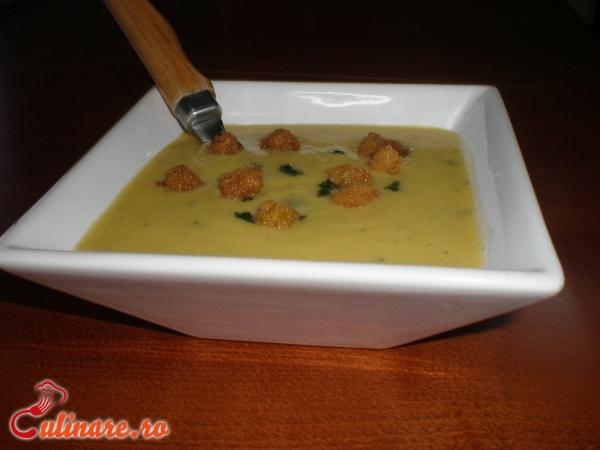Foto - Supa crema de praz