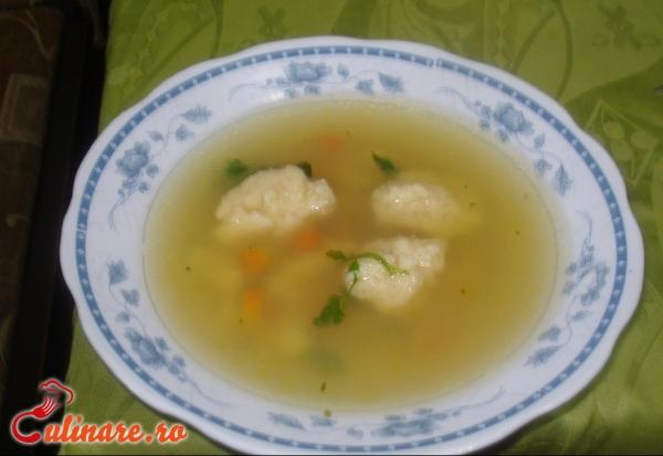 Foto - Supa de galuste