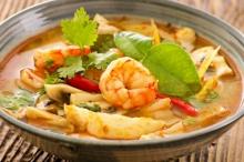 Supa de peste cu creveti