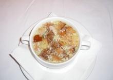 Supa de usturoi cehia