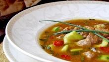 Supa din rasol de vita