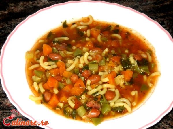 Foto - Supa minestrone